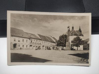 Pohlednice - Rožmitál pod Třemšínem - náměstí
