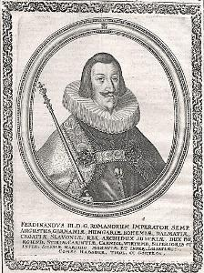 Ferdinand III., Merian,  mědiryt (1650)