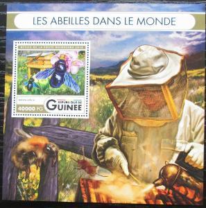 Guinea 2016 Včely Mi# Block 2682 Kat 16€ 2551