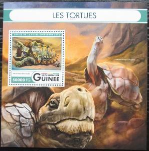 Guinea 2016 Želvy Mi# Block 2703 Kat 20€ 2552