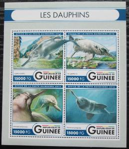 Guinea 2016 Delfíni Mi# 12056-59 Kat 24€ 2552