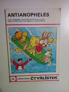 Čtyřlístek, Antianopheles, č. 140, pěkný zachovalý stav