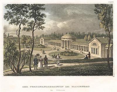 Mariánské Ferdinand, Meyer, kolor. oceloryt, 1850