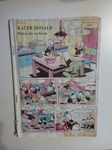 Časopis, Mickey mouse z roku 1992, bez obálky