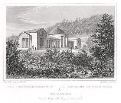 Mariánské Ferdinand, Lange, oceloryt, 1842