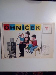 Časopis, Ohníček, č. 11, roční 36, zachovalý stav