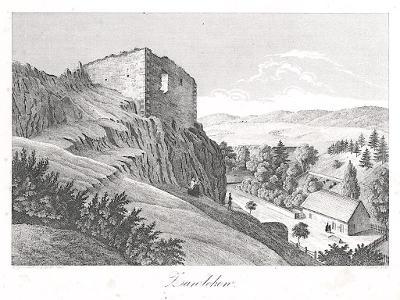 Zavleko, Heber , litografie, 1846