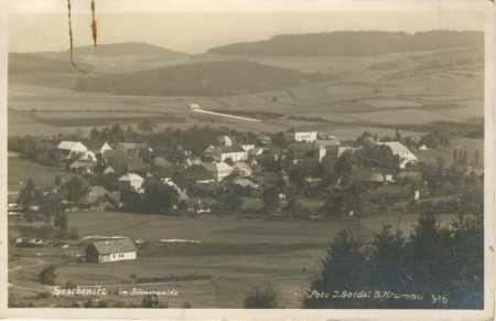 Dešenice (Deschenitz im Böhmerwalde)- celkový pohl