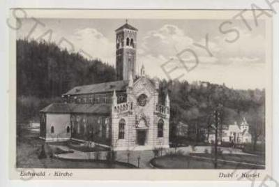 Teplice, Dubí (Eichwald), Kostel, Lesklá