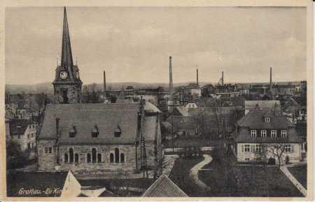 Hrádek nad Nisou (Grottau), kostel