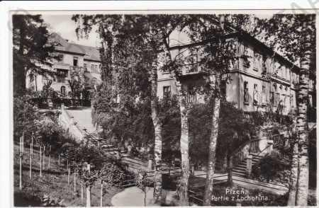 Plzeň, Lochotín, partie z Lochotína