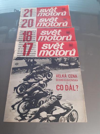 Svět motorů - rok1967 - Ostatní