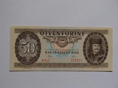 Maďarsko 50 forintů 1983 - UNC