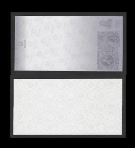 ceninový tisk GOZNAK s motivem bankovky 500 rublů - verze 2 - stav UNC