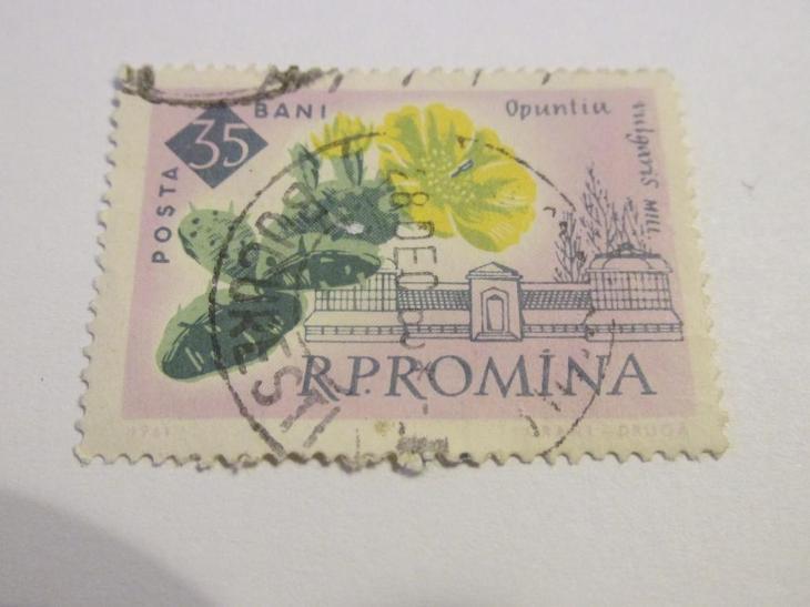 Známky Rumunsko 1961, 100 let bukurešťské botanické zahrady - Filatelie