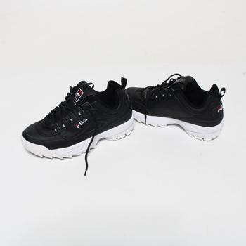 Pánské běžecké boty Fila černé