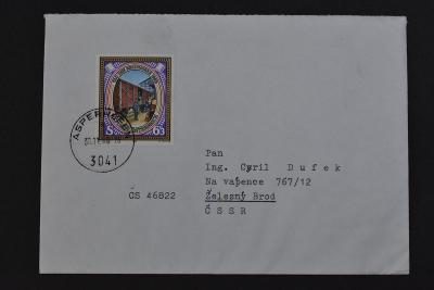 Vlaková pošta - Rakousko