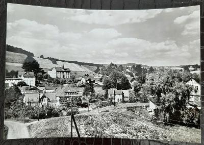 Děčín Horní Poustevna celkový pohled venk.stavení