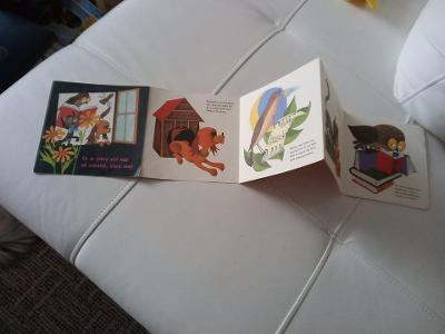 Kniha dětské leporelo rok 1972 použitá