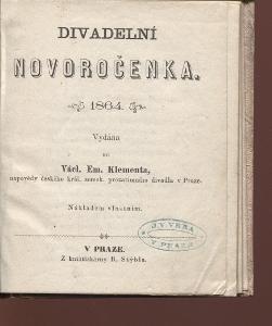 Divadelní novoročenka 1864 (divadlo)