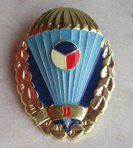 Odznak - výsadkář - PARA - AČR  - II