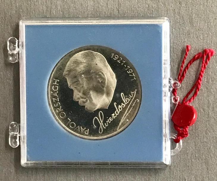 🌶RR!Stříbrná mince 50Kčs PROOF 1971-50. výročí P.O. Hviezdosl,4.772ks - Numismatika
