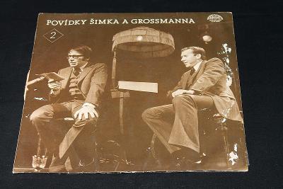 LP- Miloslav Šimek – Povídky Šimka A Grossmanna 2. (d23)