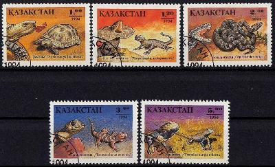 Kazachstán 1994 ʘ/Mi. 51-5 , plazi , /0018/