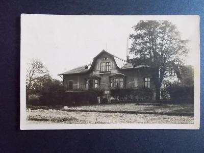 Karviná Lázy Doubrava Dombrowa vila soukromá foto pohlednice
