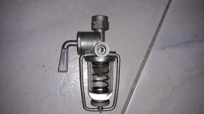 Jawa - ČZ 350 - Jikov - hrubý čistič paliva s kohoutem - nový