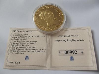 Pamětní mince 16 ISABELL