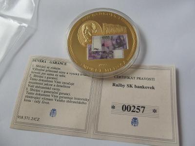 Pamětní mince 20 SLOVENSKO