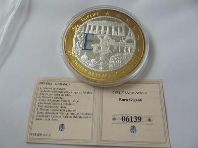 Pamětní mince 21 EVROPA
