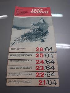 Svět motorů - 1964- 8 kusů