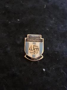 Odznak TJ SLOVAN BROUMOV 1927