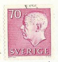 Švédsko, razítkované, r.1967, Mi. 587 A