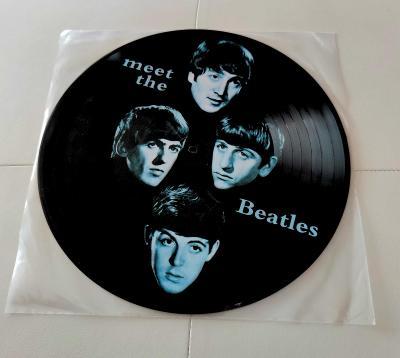 LP- THE BEATLES - Meet the Beatles (album, picture LP, Limited Ed. UK)