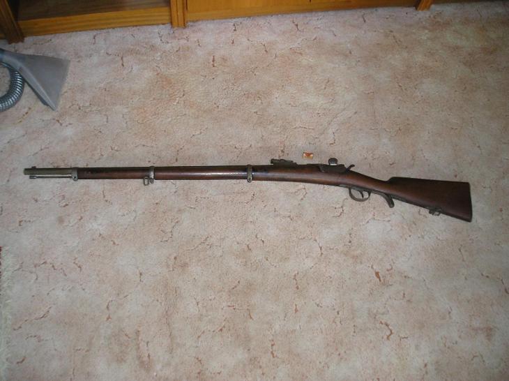 Pěchotní puška Werndl 1873 - Vojenské