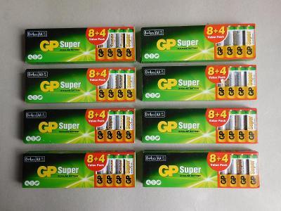 Baterie GP   AA Super 8+4
