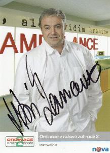 Martin Zounar autogram - Ordinace v růžové zahradě