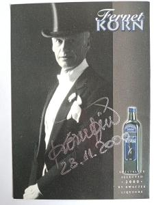 Autogram Jiří KORN ..