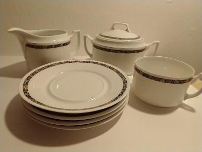 porcelánový servis - pozůstatky