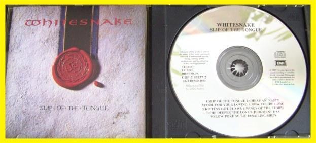 WHITESNAKE - SLIP OF THE TONGUE