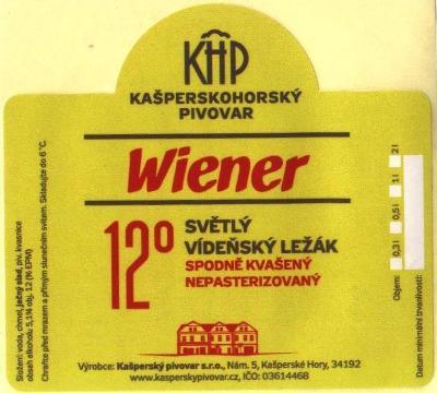Etiketa Kašperské Hory 001