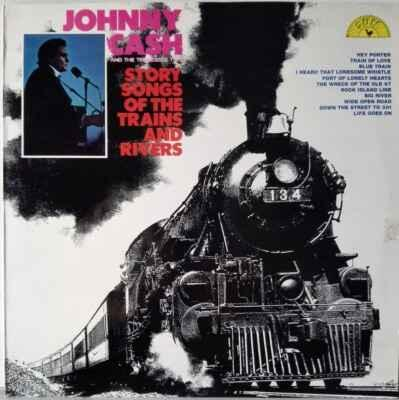 LP Johnny Cash And The Tennessee Two - Story Songs Of... 1972 EX