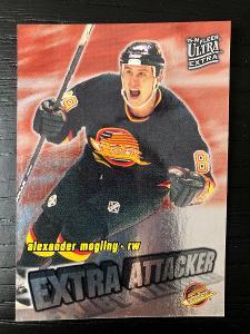 1995-96 Fleer Ultra EXTRA ATACKER #15 Alexander Mogilny