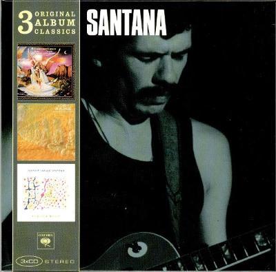 💿 3CD BOX SANTANA – 3 Original Album Classics  /ZABALENO
