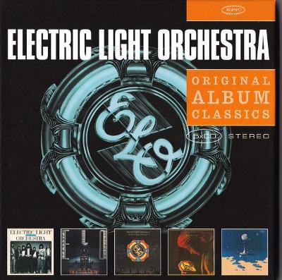 💿 5CD BOX ELECTRIC LIGHT ORCHESTRA- Original Album Classics /ZABALENO