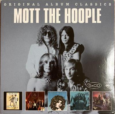 💿 5CD BOX MOTT THE HOOPLE – Original Album Classics /ZABALENO