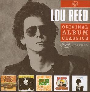 💿 5CD BOX LOU REED– Original Album Classics VOL.1/ZABALENO